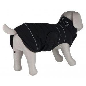 Trixie Manteau d'hiver king of dogs - S: 35 cm, noir