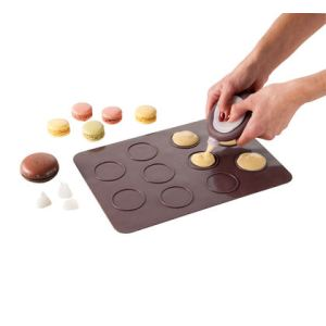 Kitchen Artist Men247 - Kit à macarons en silicone