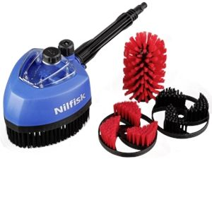 Nilfisk 776664 - Kit multi brosse rotative auto/jardin pour nettoyeurs haute pression