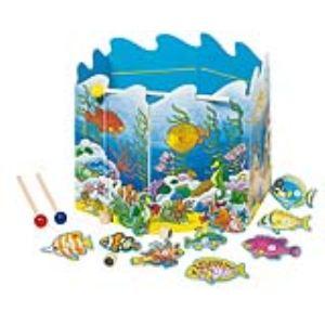 Goki 56884 - Jeu de pêche à la ligne avec aimants