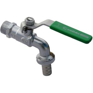 """Calido Résistant à portée de main jardin en laiton robinet du tuyau 1/2 """" BSP de vanne à boisseau sphérique"""