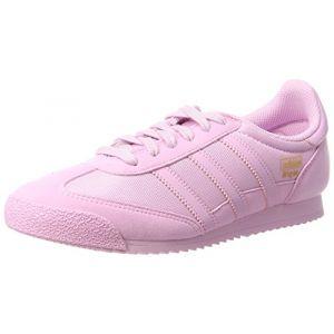 Adidas Dragon OG, Sneakers Basses Mixte Enfant, Rose Frost Pink, 37 1/3 EU
