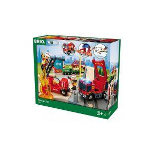 Brio 33817 - Circuit pompier et secouriste