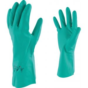 Outibat Gants de protection acrylonitrile spécial manutention produit chimique - Taille 10