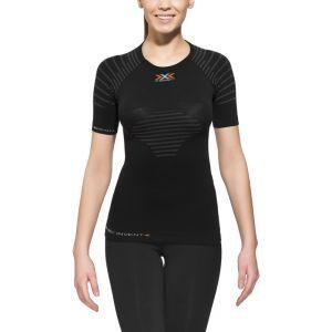 X-Bionic Invent Sous-vêtement en fibres synthétiques Femme Light, Shirt, Short noir L femmes noir cuir synthétique et Mesh