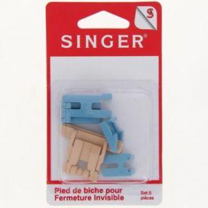 Singer Pied de biche pour fermeture invisible