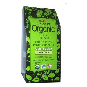Radico Colour Me Organic : Noir doux - Coloration pour cheveux biologique