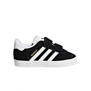 Adidas Gazelle CF I, Chaussures de Fitness Mixte Enfant, Noir (Negbas/Ftwbla 000), 24 EU