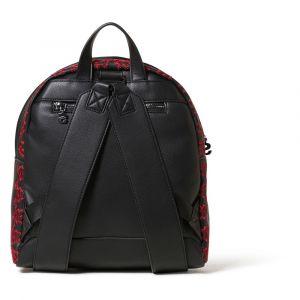 Desigual Petit sac à dos Breating Heart avec broderie Noir