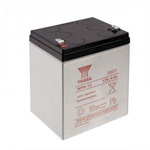 Daitem Batterie Plomb 12V 4Ah MJU03X pour Solarmatic