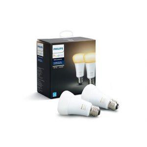 Philips Ampoules connectées HUE WHITE AMBIANCE E27 X2