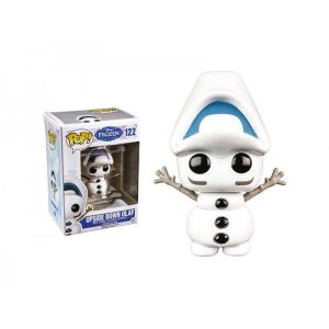 Funko Figurine Pop! La Reine Des Neiges : Olaf Upside Dowm