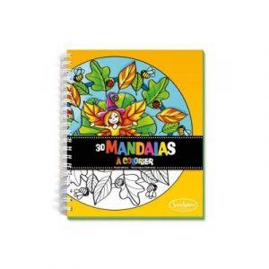 Sentosphère Carnet de coloriage Mandalas