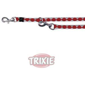 Trixie Cavo Laisse réglable argent