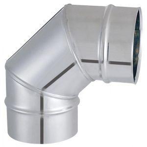 Isotip 032520 - Coude à secteur 90° Tyral Inox 204 diamètre 200