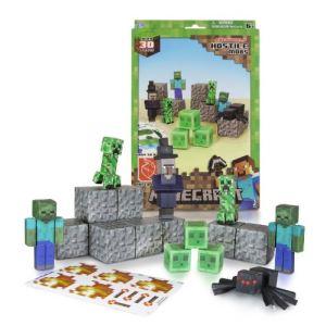 Jazwares Minecraft Papercraft : créatures hostiles