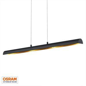 Trio Suspension RAMIRO LED Noir, 4 lumières - Vintage - Intérieur - RAMIRO - Délai de livraison moyen: 4 à 8 jours ouvrés. Port gratuit France métropolitaine et Belgique dès 100 ?.