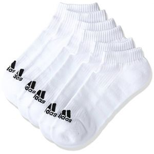 Adidas Chaussettes 3s Performance No Show Half Cushioned 3pp - White - Taille EU 23-26