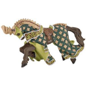 Papo Figurine Cheval du maître des armes cimier dragon