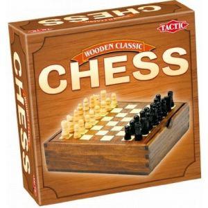 Tactic Jeu de voyage en bois : échecs