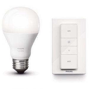Philips Hue E27 blanc chaud - Set Variateur sans fil
