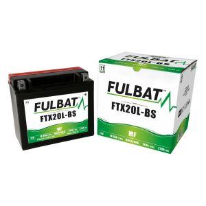 Fulbat Batterie ytx20-bs 12v18ah lg172 l84 h164 - sans Entretien livree avec Acide