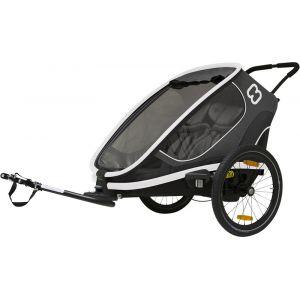 Hamax Outback Remorque vélo, grey Remorques pour enfant