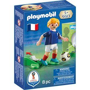Playmobil 9513 - Coupe Du Monde de la FIFA Russie 2018 : Joueur de foot Français