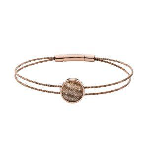 SKAGEN Bracelet Merete SKJ1176791 - Bracelet Acier Doré Rose Femme