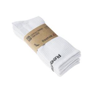 Reebok Chaussettes de sports Sport Chaussettes Niveau mollet - Handball - Essentials training crew blanc - Taille 41 / 46