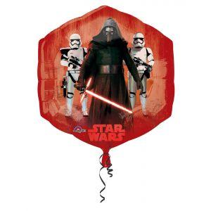 Ballon en aluminium Star Wars VII (55 x 58 cm)