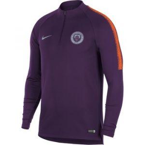 Nike Haut de football à manches longues Manchester City FC Dri-FIT Squad Drill pour Homme - Pourpre - Taille XL