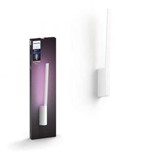 Philips Lampe connectable Hue & Color LIANE Applique 12W - Blan