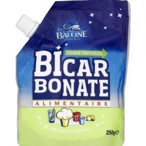 La baleine Bicarbonate alimentaire