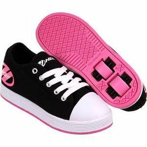 Heelys Fresh, Sneaker Bas du Cou Mixte Adulte, Black/pink, 35 EU