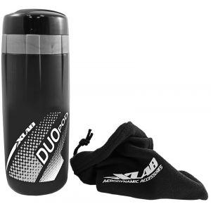 Xlab Bidon de rangement Duo Pod - 60 ml Noir Outillage