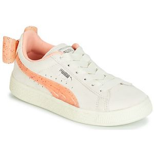 Puma Baskets basses enfant PS SUEDE BOW JELLY AC.WHIS Beige - Taille 28,29,30,31,32,33,34,35