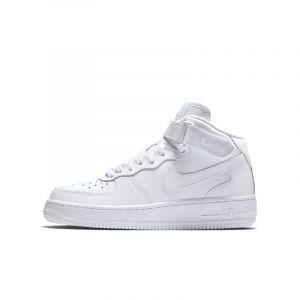 Nike Chaussure Air Force 1 06 mi-montante pour Garçon - Blanc - Taille 35.5