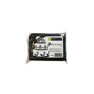 Patisdécor Pâte à sucre noir (250g)
