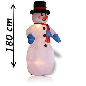 Edco Bonhomme de neige gonflable XXL (180 cm)