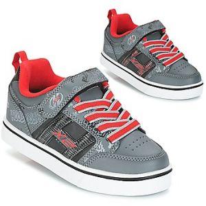 Heelys X2 Bolt, Chaussures de Tennis Garçon, Noir (Black/Grey/Red), 35 EU