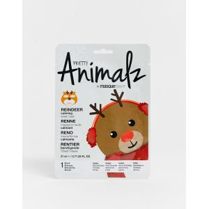 Masque B.A.R Pretty Animalz renne - Masque en feuille