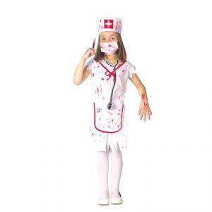 Déguisement infirmière ensanglantée enfant Halloween