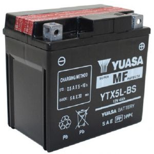 Yuasa Batterie moto YTX5L-BS