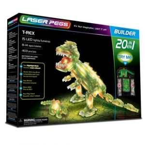 Laser pegs 16010 - T-Rex jeu de construction 20-in-1