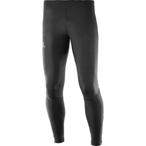 Image de Salomon Homme Collant de Course, Agile Tight, Jersey, Noir, Taille XL, L40117400