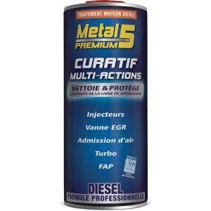 Metal5 Traitement Moteur Diesel Curatif Multi-actions 1 L