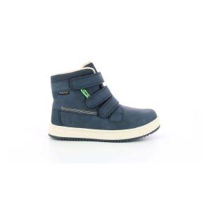 Kickers Yepokro WPF, Sneakers Haute Garçon, Marine, 34