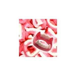 Trolli Dents de Dracula - Confiserie gélifiée en forme de dentiers (1 kg)