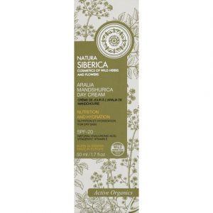 Natura Siberica Crème de jour pour peau sèche - Nutrition et hydratation - 50 ml